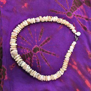 Unique Puka Shell Necklace